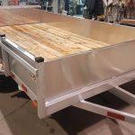 Remorque utilitaire en aluminium