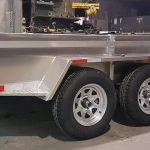 Utilitaire en aluminium