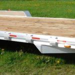 Plate forme pour tracteur